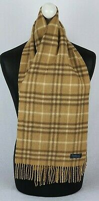 £59.99 • Buy Burberry Scarf 100% Cashmere For Men And Women Made In England #93