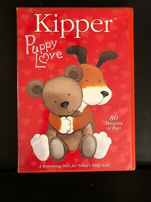 Kipper Puppy Love DVD A Lovable Dog With An Imagination Movie • 12$