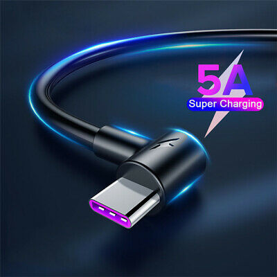AU6.43 • Buy For OnePlus 7T 7 Pro 6T 5T USB-C Type C 5A Fast Charging Charger Data Cable Cord