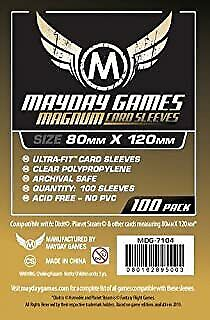 $5.58 • Buy MDG7104 Mayday Games - Magnum Gold Sleeves 80mm X 120mm (Dixit) (100)