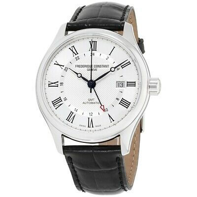 Frederique Constant FC-350MC5B6 Men's Silver Dial Classics Automatic GMT Watch • 735$