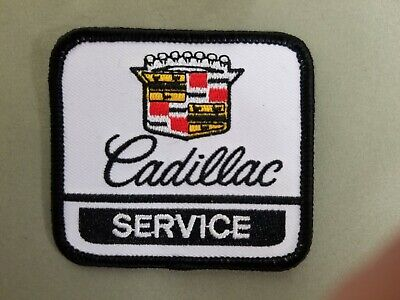 Cadillac Service Embroidered Iron On Automotive Patch • 4$