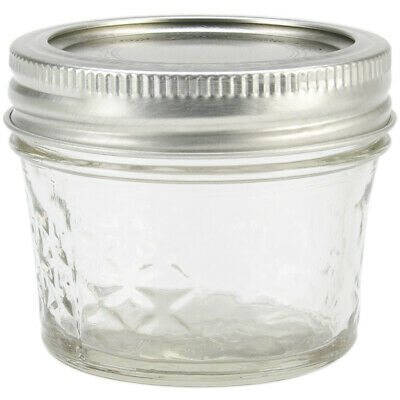 Ball Quilted Crystal Jelly Jar-4oz • 23.82$