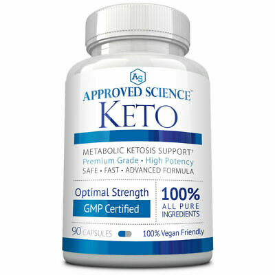 Approved Science® Keto: Pure Exogenous 4 Ketone Salts To Boost Ketosis 1 Bottle • 43.99$
