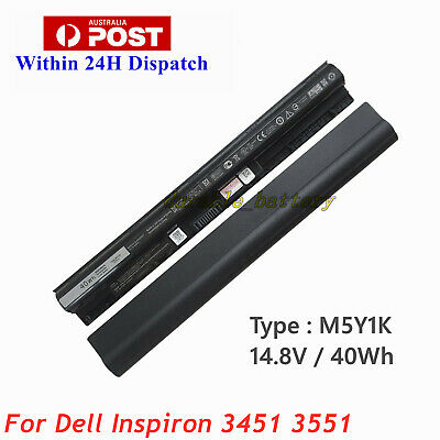 AU44.80 • Buy 40WH NEW Battery M5Y1K For Dell Inspiron 3451 3458 3551 3558 5551 5555 5558 5758