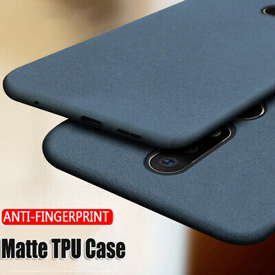 AU4.14 • Buy Ultra-Thin Frosted Sandstone Soft TPU Case Cover Skin For OnePlus  8 7T Pro 7 6