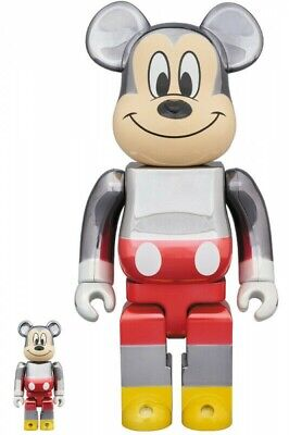 $1427.33 • Buy BE@RBRICK 100% & 400% Fragmentdesign MICKEY MOUSE COLOR Ver. 4530956580784