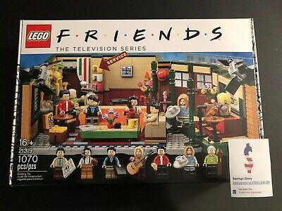 Lego Friends Central Perk Cafe Set 21319 1070 Pcs US Seller Authentic IN STOCK • 88.95$
