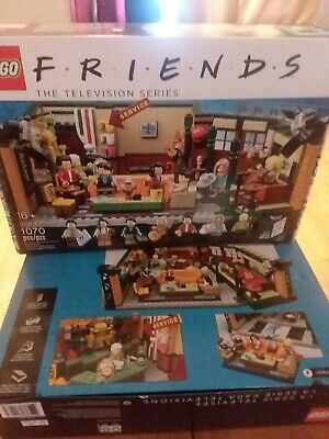 LEGO FRIENDS Central Perk Tv Show Friend Ideas 21319 Brand New Factory Sealed!!! • 99$