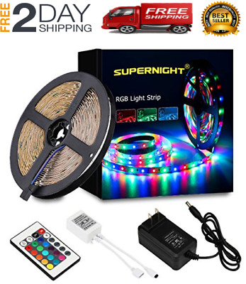 Led String Strip Lights Color Changing Lamps Indoor Room Home Good For Party • 22.99$