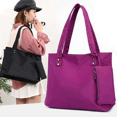 $ CDN18.74 • Buy Women Nylon Handbags Shoulder Bag Messenger Bag Waterproof Tote Bag Ladies Tote