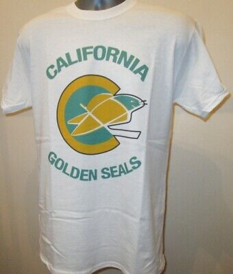 California Golden Seals T Shirt Ice Hockey Team NHL Nordiques North Stars R423 • 11.95£