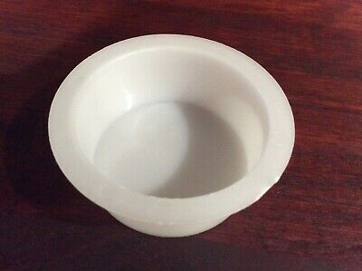 $1.75 • Buy Soap Mold, Round, Individual Containers, 1 1/8  Deep 2 1/2  Diameter Quantity 2