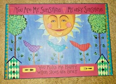 Colorful Plaque By Great Impressions - You Are My Sunshine - #855807  • 12.73£
