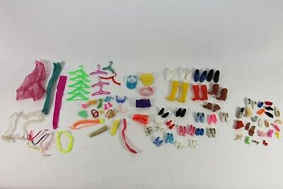 $ CDN20.69 • Buy Vintage BARBIE Doll Accessories SHOES BOOTS HATS HANGERS EARRINGS GLASSES SCARF