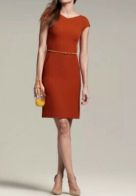 $ CDN154.37 • Buy NWT MM Lafleur The Nisa Dress Poppy Orange - $195 Size 16 Career Wear To Work