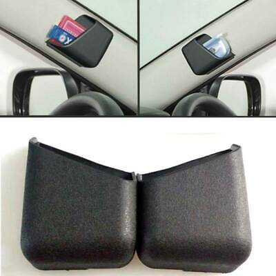 $3.52 • Buy 2x Universal Black Car Accessories Phone Organizer Storage Bag Box Holders New