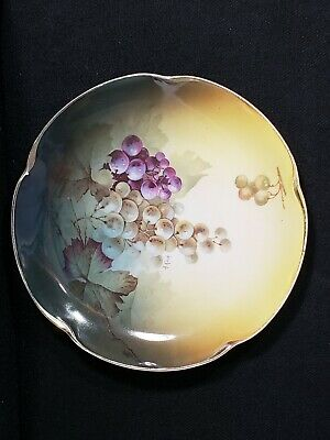 $9.09 • Buy Antique Jaeger & Co J & C Louise Bavaria Plate Hand Painted Signed A. Koch