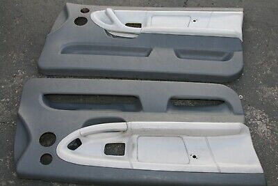$299.99 • Buy BMW E36 323 325 328 M3 2DR Coupe Vert Door Panels Cards Dove + Grey Leather R L