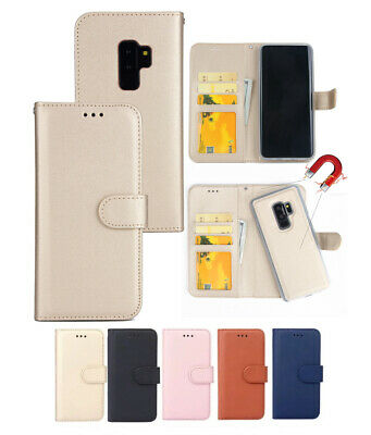 AU13.99 • Buy Samsung Note S21 20 10 9 Plus Ultra Magnetic Removable Wallet Leather Case Cover