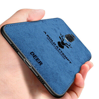 $2.65 • Buy For Xiaomi Redmi 8 Note 8T 8 7 Pro Case Fabric Cloth Leather Soft Silicone Cover