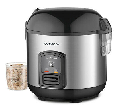 AU39 • Buy Kambrook - 5 Cup Capacity - Rice Master Rice Cooker & Steamer