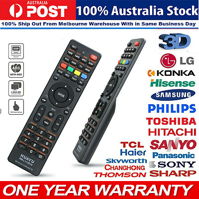 AU9.82 • Buy Universal Remote Control Replacement For LG/Sony/TCL/Soniq/ Smart LED LCD TV AU