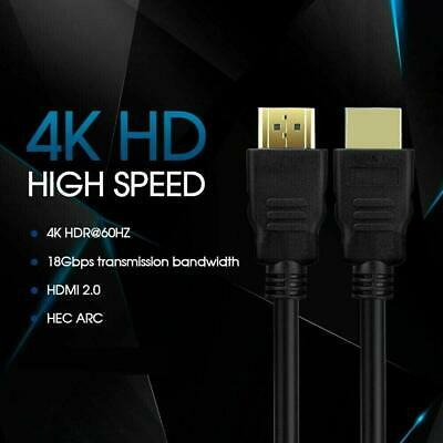 AU6.99 • Buy 30M Premium HDMI Cable V2.0 Ultra HD 4K 2160p 1080p 3D High Speed Ethernet HEC