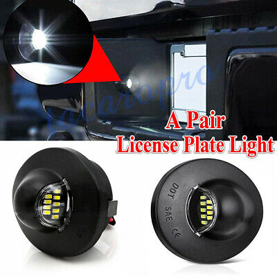 $10.99 • Buy Pair LED License Plate Light Bumper Assembly Replacement For Ford F-150 Raptor