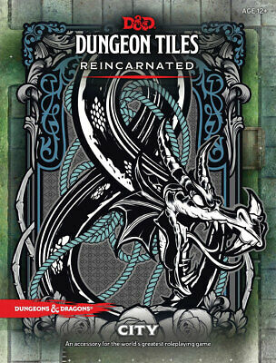 AU42.43 • Buy WOCC49110000 Dungeons And Dragons RPG: Dungeon Tiles Reincarnated - City