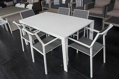 AU1199 • Buy Koch - 7 Piece Outdoor Setting - 1600mm Table With 6 Matching Chairs