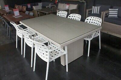 AU799 • Buy Stivala - 7 Piece Outdoor Setting - 1900mm Table With 6 Matching Chairs