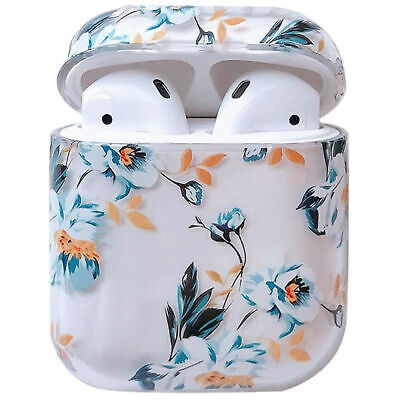 $ CDN6.66 • Buy For Apple Airpods 1&2 Pro Charging Case Clear Hard PC Cover Floral Flower Cute