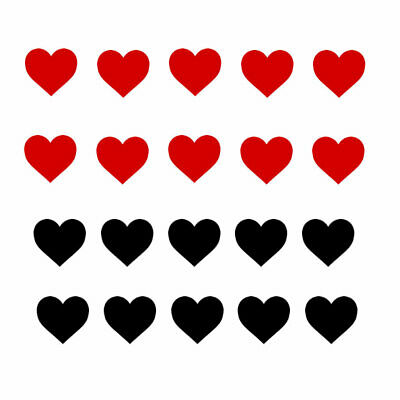 £1.69 • Buy Set Of Heart Temporary Tattoo Waterproof Forever Love Valentine's Day Valentine