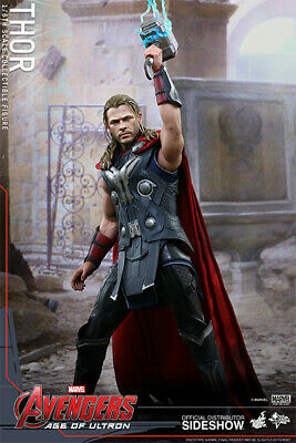 $300 • Buy Hot Toys Thor 1/6 Marvel Avengers Age Of Ultron Figure Preowned FREE SHIPPING