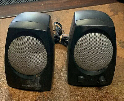 Creative Cambridge SoundWorks Black And Gray Computer Speakers SBS36B • 11.58£