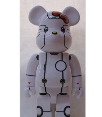 $220.99 • Buy BE@RBRICK Medicom Toy ROBOT KITTY WHITE 400% 400% Figure Doll Used