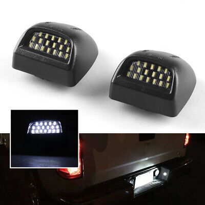 $8.99 • Buy 1Pair LED License Plate Light Fit For 00-06 Chevy Tahoe Suburban GMC Yukon XL