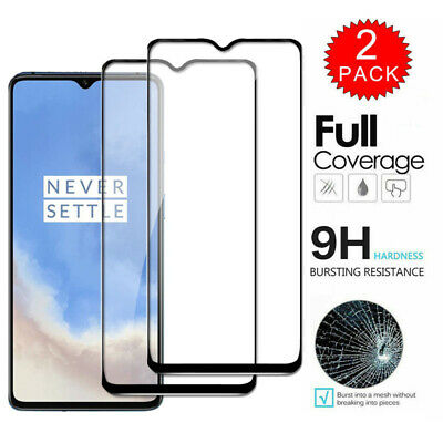 AU4.49 • Buy For OnePlus 7T 7 Pro 6T 6 - FULL COVER Tempered Glass Screen Protector [2-Pack]