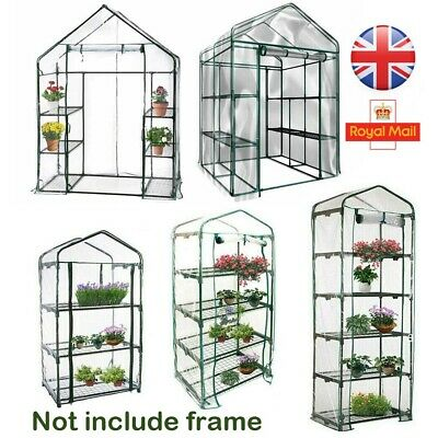 Outdoor Greenhouse Bag Garden Plant Cover Clear PVC Plastic Growbag Box Cover • 11.99£