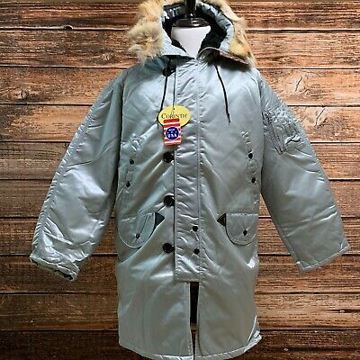 $ CDN186.01 • Buy Extreme Cold Weather N3B Arctic Parka - Made In USA By Corinth - M - Brand New