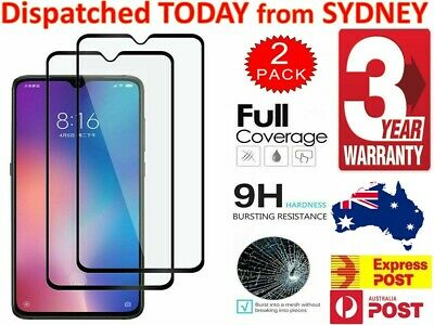 AU7.68 • Buy For Xiaomi Redmi Note 8 Pro 7 Pro 6  Full Cover Tempered Glass Screen Protector