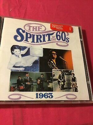 Time Life,The Spirit Of The 60s-1963 Cd Very Good Con-24 Tracks • 4.99£