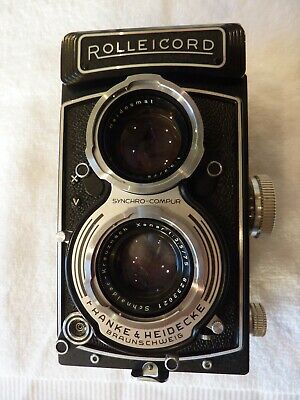 View Details Rollei Rolleicord Vb Type 1 Medium Format Twin Lens Reflex (TLR) Camera • 439.00£