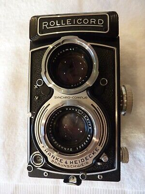 View Details Rollei Rolleicord Vb Type 1 Medium Format Twin Lens Reflex (TLR) Camera • 385.00£