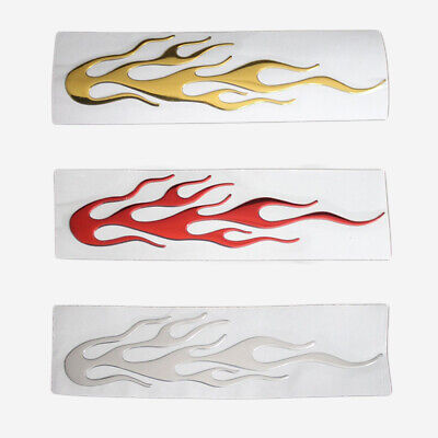$ CDN1.25 • Buy 3D Flame Reflective Sticker Car Body Individualized Graphics Decals Accessories