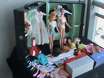$ CDN325 • Buy  Barbie Vintage 1960's Collection,Case, Dolls, Clothes, Books And Accessories