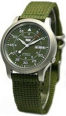 $ CDN144.81 • Buy Seiko 5 Sports Military Automatic Men's Watch SNK805K2