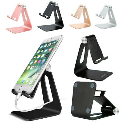 $7.99 • Buy Universal Cell Phone Tablet Desktop Stand Desk Holder Mount Cradle Aluminium USA