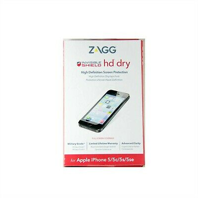 AU24.95 • Buy Zagg Invisible Shield Fr Iphone Se 1st Gen 2016 Iphone 5 5s 5c Hd Dry 4iphds-f00